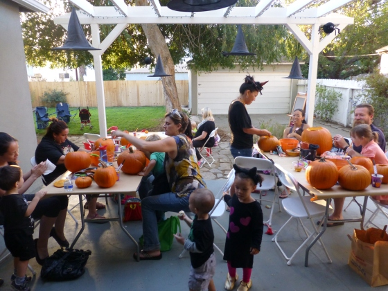 Pumpkin-Carving-Party